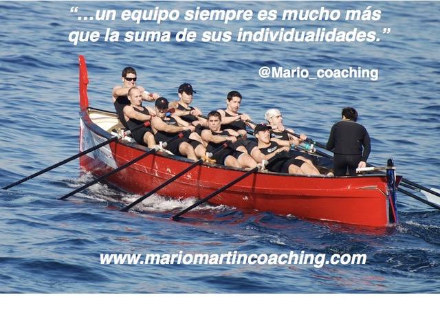 Un equipo es más que la suma de sus invidualidades