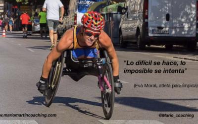 Determinación ante el reto