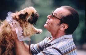 """Jack Nicholson con Melvin en """"Mejor imposible"""""""