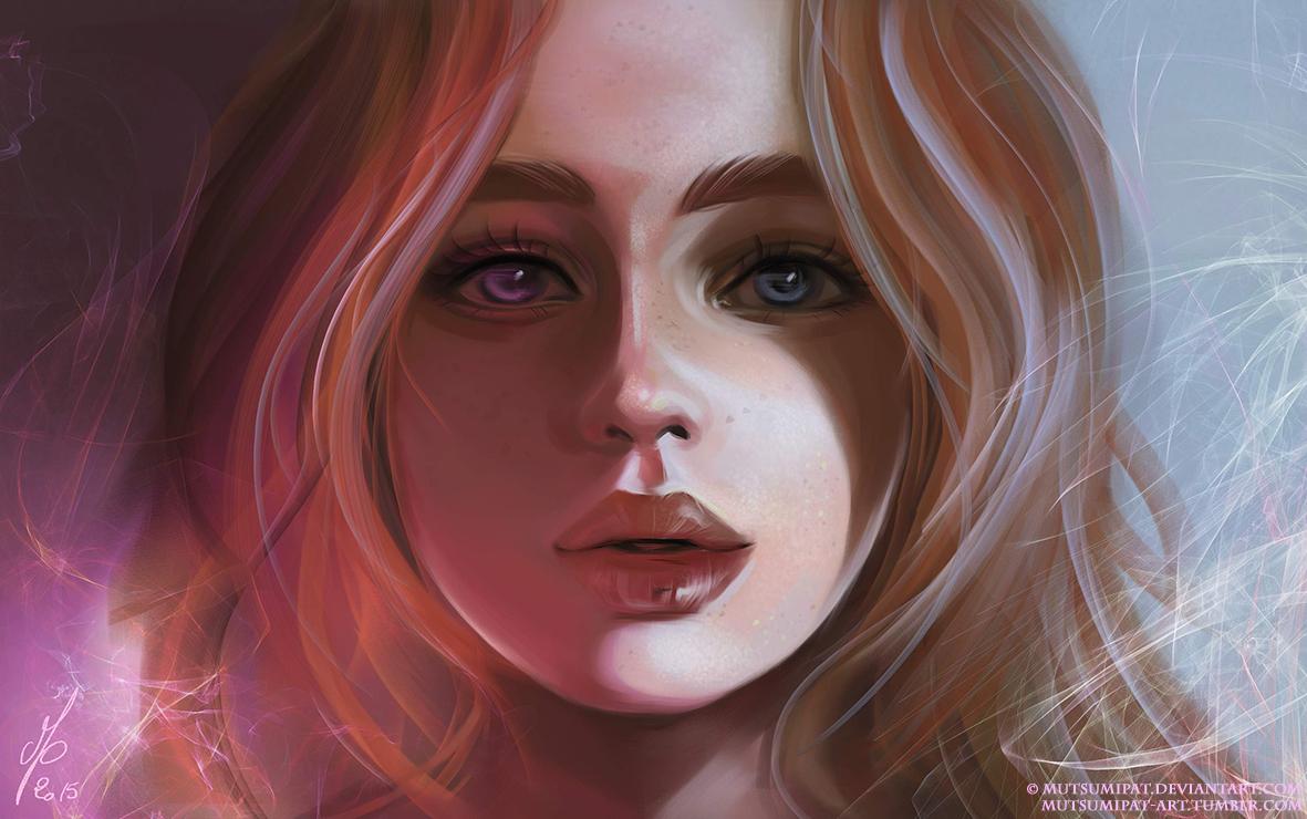 Arte digital, retrato