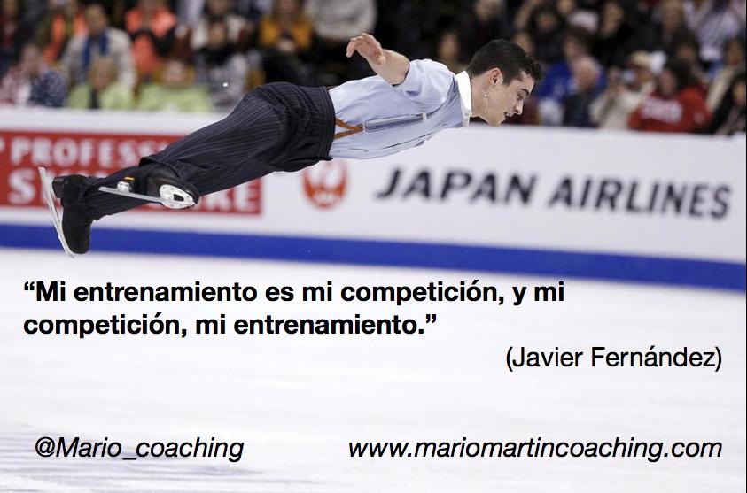 Mi entrenamiento es mi competición