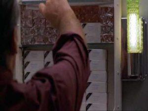"""Jack Nicholson como Melvin en """"Mejor imposible"""""""