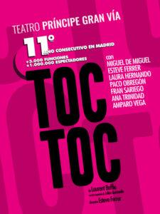 Toc-Toc obra de teatro