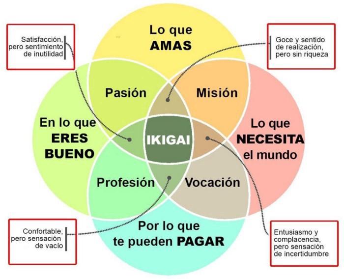 Imagen de definición de Ikigai